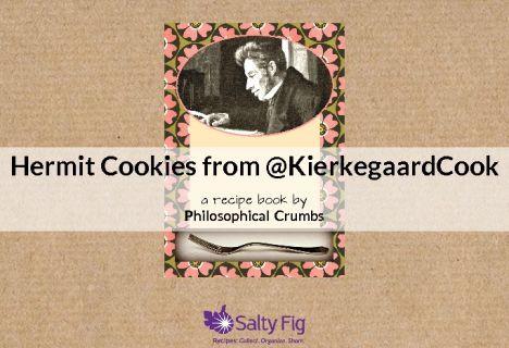 "Download our free pdf booklet ""Hermit Cookies from @Julie Kierkegaard Cookbook Project "":  http://www.saltyfig.com/book/152/hermit_cookies_from_kierkegaardcook Thanks @Emily Stanford Fig  !  Weekend greetings all!"