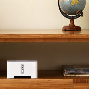 Sonos CONNECT  Turn your stereo or home theater into a music streaming system