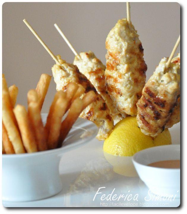 Ricette facili e veloci: Kebab di pollo