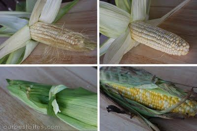 How to BBQ corn...I do it with the husk on and it's AMAZING!