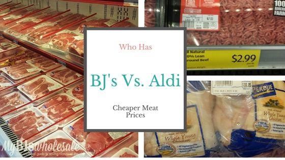 Aldi Vs. BJ's Wholesale: Who Has The Cheaper Meat Prices? - http://www.mybjswholesale.com/2016/09/aldi-vs-bjs-wholesale-cheaper-meat.html/