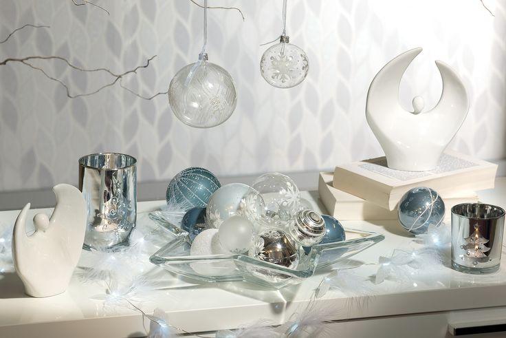Argintiul aduce atmosfera festiva in locuinta ta #kikaromania #decoratiuni #accesorii #iarna #living #emotie #familie #camin #locuinta #argintiu #globuri #jucarii #Craciun #MosCraciun #cadouri #dorinte #SarbatoriIarna