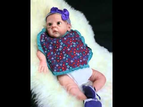 Sculpting a cute mini baby 2! The Bonnie Brown Collection - YouTube