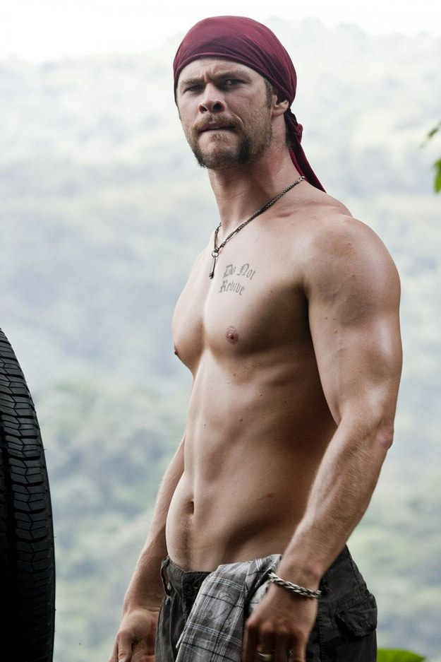 Time. | 32 Times Chris Hemsworth Made You Pregnant Without Even Touching You