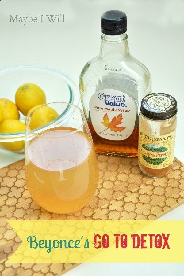 lose weight quick detox drink