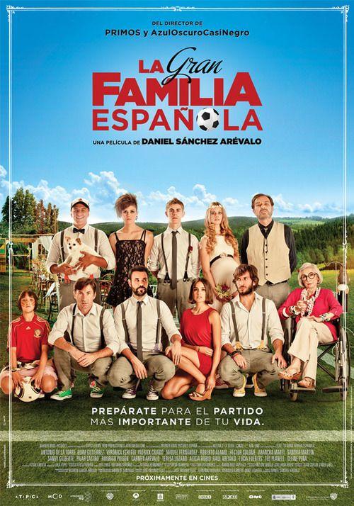 LA GRAN FAMILIA ESPAÑOLA del 13 al 19 de enero 17:20h. 20:45h.