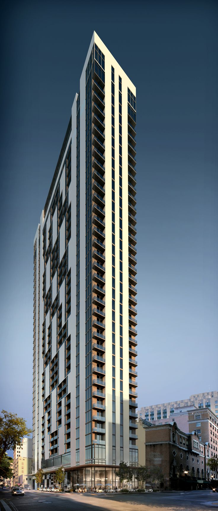 17 best images about high rise residential building on for Florida residential architects