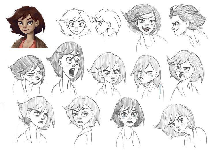 Art facial expressions — 6