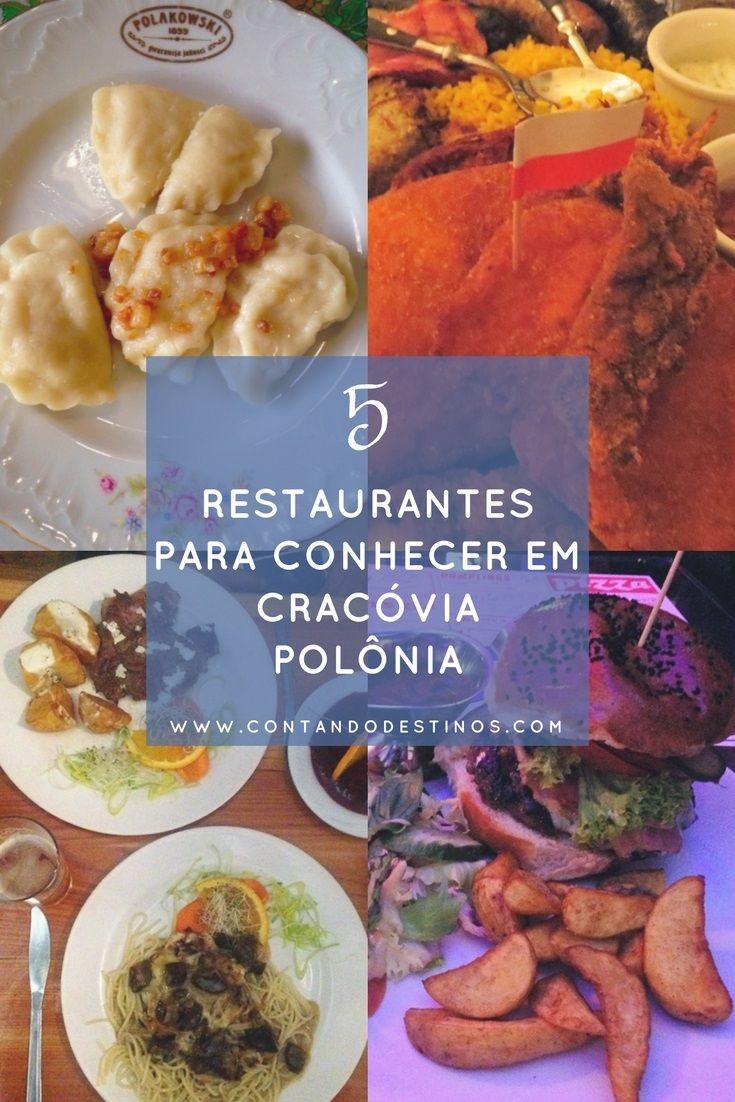 Comida típica polonesa e lanches rápidos. Veja a lista de 5 restaurantes para conhecer em Cracóvia na Polônia