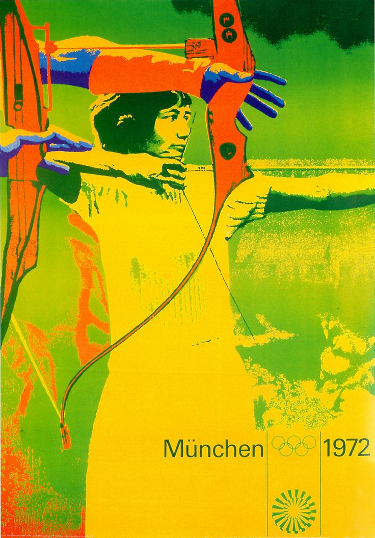 1972 Olympic poster