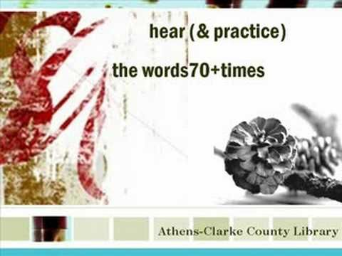 Hoe pas je TPR Storytelling toe in je les? Twee korte Engelstalige TPRS instructiefilmpjes v/d Athens Clark County Library voor vrijwilligers die via TPRS Engels als Tweede Taal onderwijzen aan volwassen Spaanssprekenden. Veel lesmateriaal!