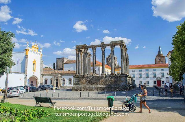 Templo romano de Évora | Turismo en Portugal