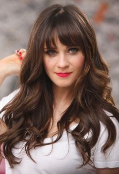 haircut with bangs best 25 zooey deschanel hair ideas on zooey 9615