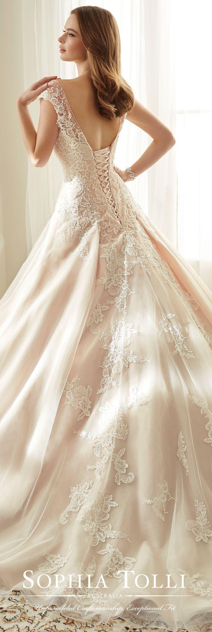 Best 25 Corset back wedding dress ideas on Pinterest  Nice wedding dresses Ruffle wedding