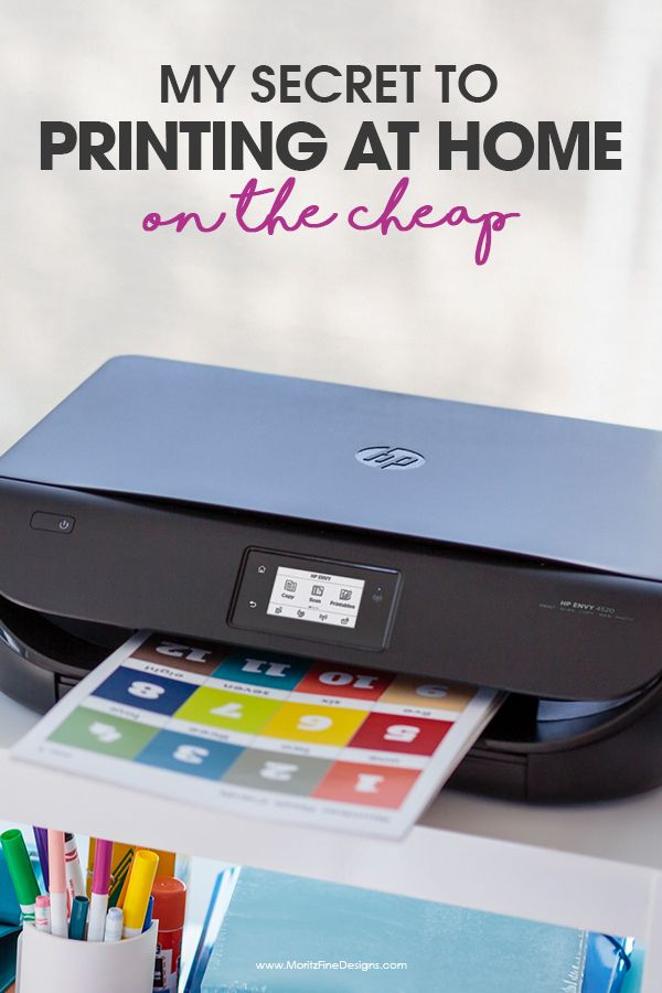 Find The Secret To Printing At Home On Cheap