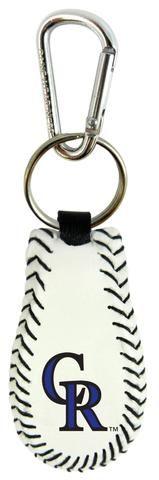 Colorado Rockies Baseball Keychain #ColoradoRockies