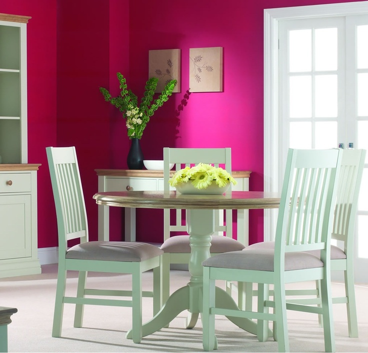 Magenta walls.  http://www.worldstores.co.uk/p/Corndell_Whitney_Painted_Sideboard.htm