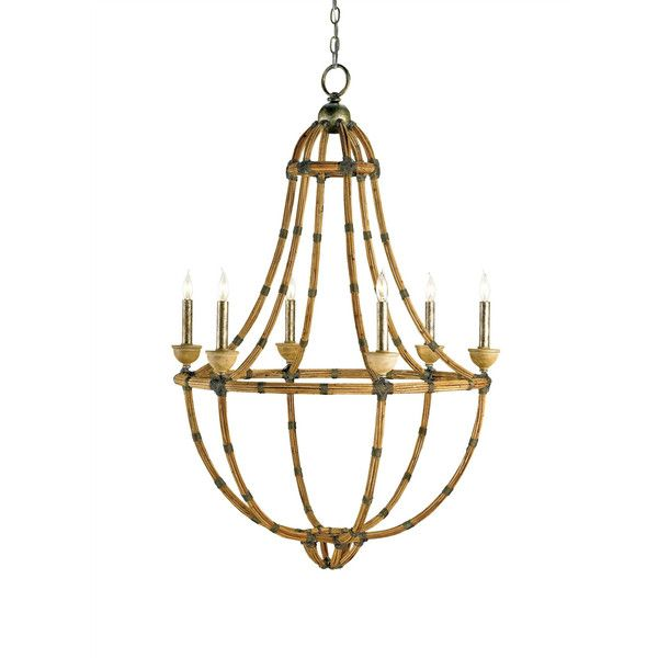 Palm Beach Chandelier design by Currey & Company (¥183,695) ❤ liked on Polyvore featuring home, lighting, ceiling lights, chandeliers, currey company lighting, currey company chandelier and palm beach lighting