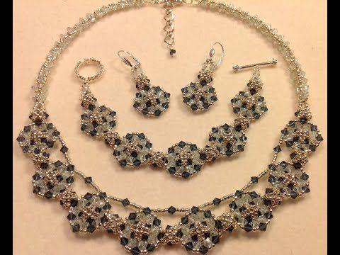 Checkered Circles Necklace Tutorial - YouTube