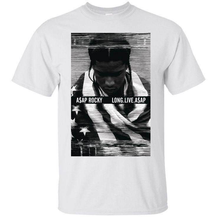 Save 10% for ASAP Rocky - Long... Check it out here! http://lupinshop.myshopify.com/products/asap-rocky-long-live-asap-g200-gildan-ultra-cotton-t-shirt?utm_campaign=social_autopilot&utm_source=pin&utm_medium=pin