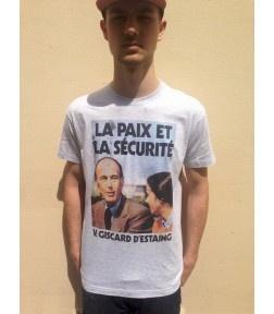 F.A.U.X -  T-shirt Giscard Paix et Sécurité 25,00 € --> 20,00 €