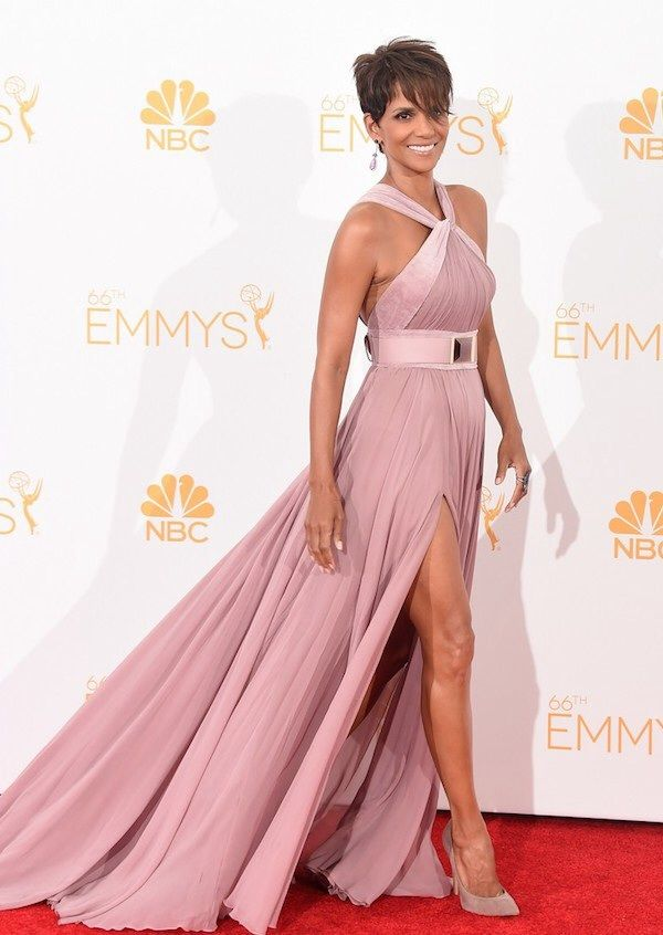 Halle Berry Emmy Look, dress, party dress, gala, fashion, style