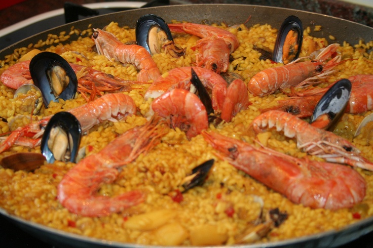 Paella is a typical Sunday lunch in Spain. How do you like yours?