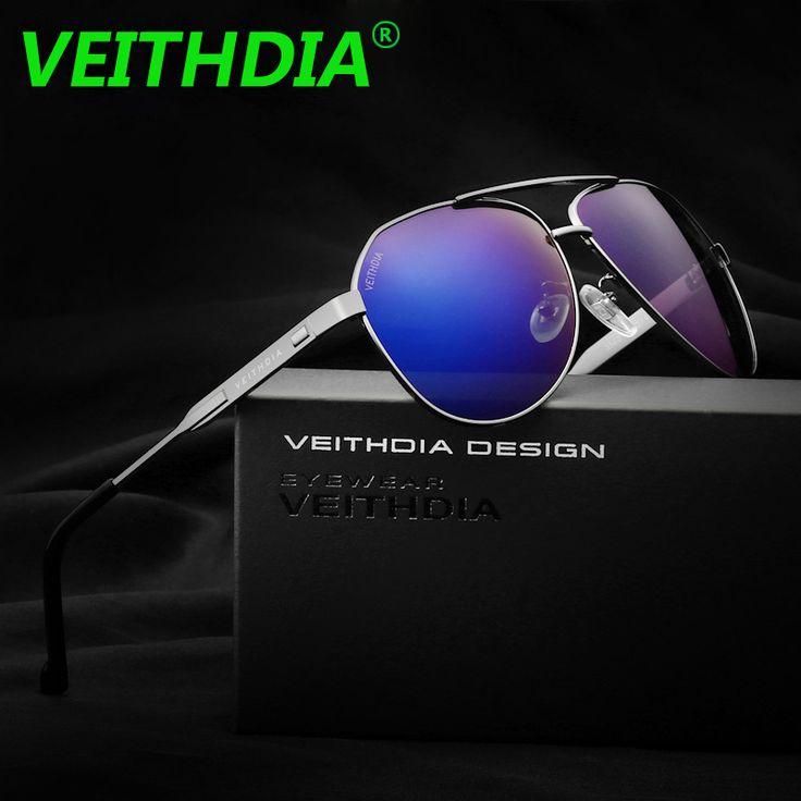 VEITHDIA Brand Best Men's Sunglasses Polarized Mirror Lens Big Oversize Driving Eyewear Accessories Sun Glasses For Men 3562 #Affiliate