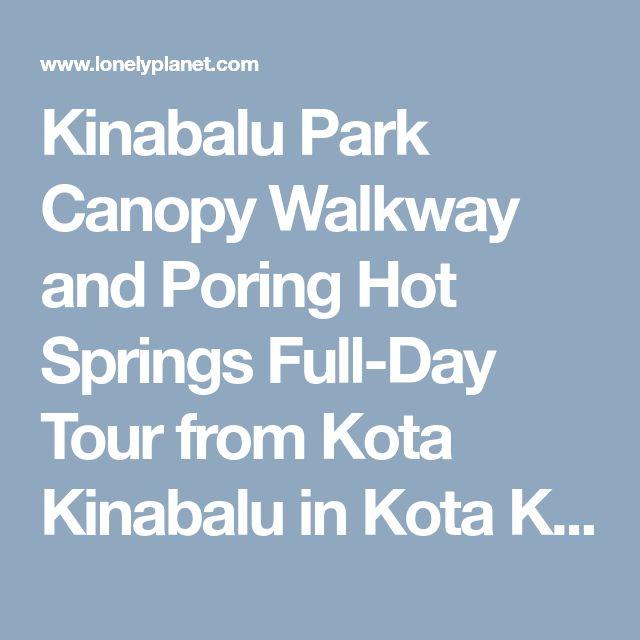 Kinabalu Park Canopy Walkway and Poring Hot Springs Full-Day Tour from Kota Kinabalu in Kota Kinabalu, Malaysia - Lonely Planet