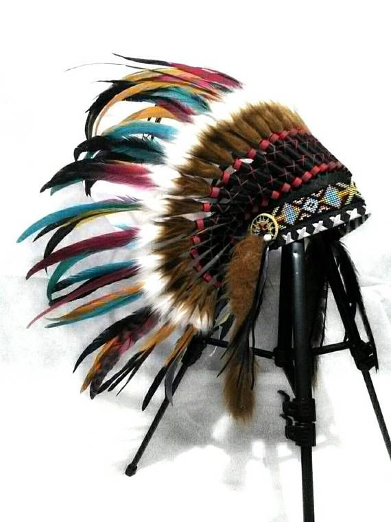 Colorful Baby Indian style Headdress  Toddler Headdress