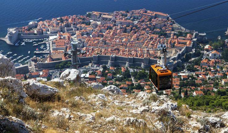 Teleférico de Dubrovnik, Croacia