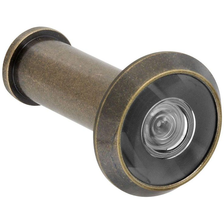 National Hardware N336-107 V805 Door Viewers, Antique Brass