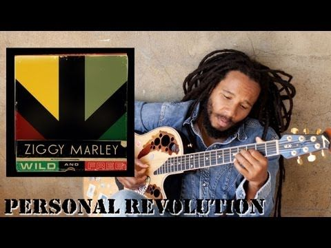 """I listen to this song first thing every morning.  Ziggy Marley - """"Personal Revolution""""   Wild and Free"""