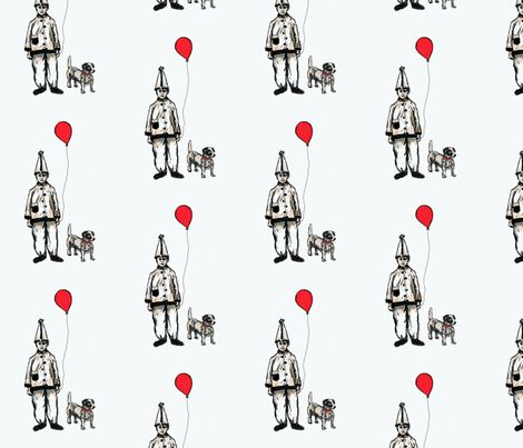 Pete and Oscar 2 fabric by dkmagfab on Spoonflower - custom fabric