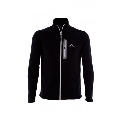 K-Way's Razorback is a full-zip lightweight polyester fleece with a double-sided brushed and anti-pill finish. Made from recycled fleece, the garment is eco-friendly. The fabric offers excellent stretch and recovery, ensuring you're comfortable at all times. It's also extremely light, making it the ideal choice for travelling.