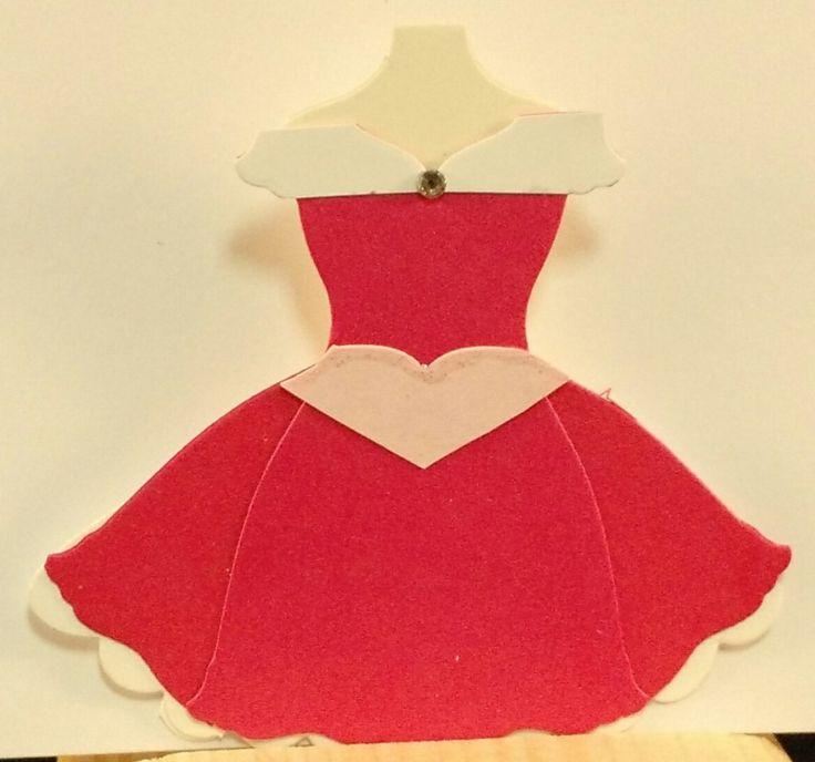 Princess, Aurora, Sleeping Beauty, punch art, Dress Up Framelits