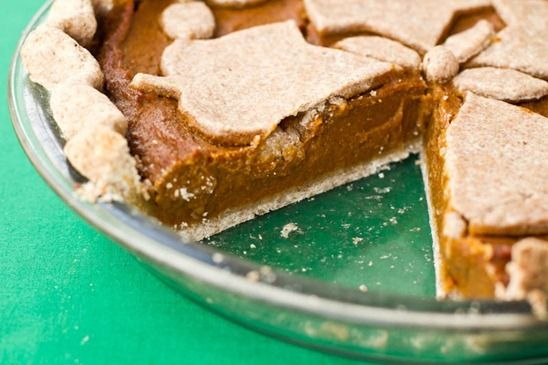 IMG 4659   Vegan Pumpkin Pie.  My family likes this better than traditional pumkin pie and it is easier to make.