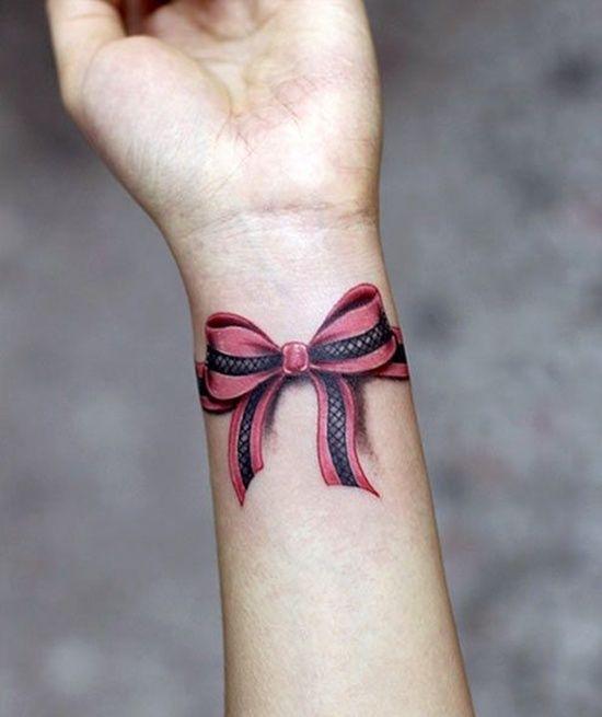 29 Unique Bow Tattoo Designs: Bow Tattoo Designs On Wrist ~ Cvcaz Tattoo Art Ideas ~ Tattoo Design Inspiration