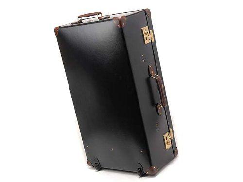 (グローブトロッター) GLOBE TROTTER 33インチ エクストラディープ スーツケース WITH ホイールズ ブラック×タン [並行輸入品] : シューズ&バッグ通販   Amazon.co.jp