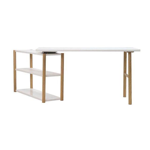 17 meilleures id es propos de bureau blanc laqu sur for Bureau 60 cm de large