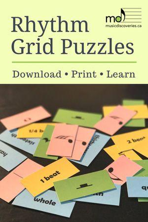 Rhythm Grid Puzzles
