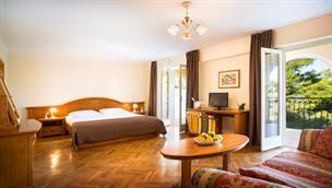 Superior Double Room @ Hotel Katarina, Rovinj, Istria, Croatia