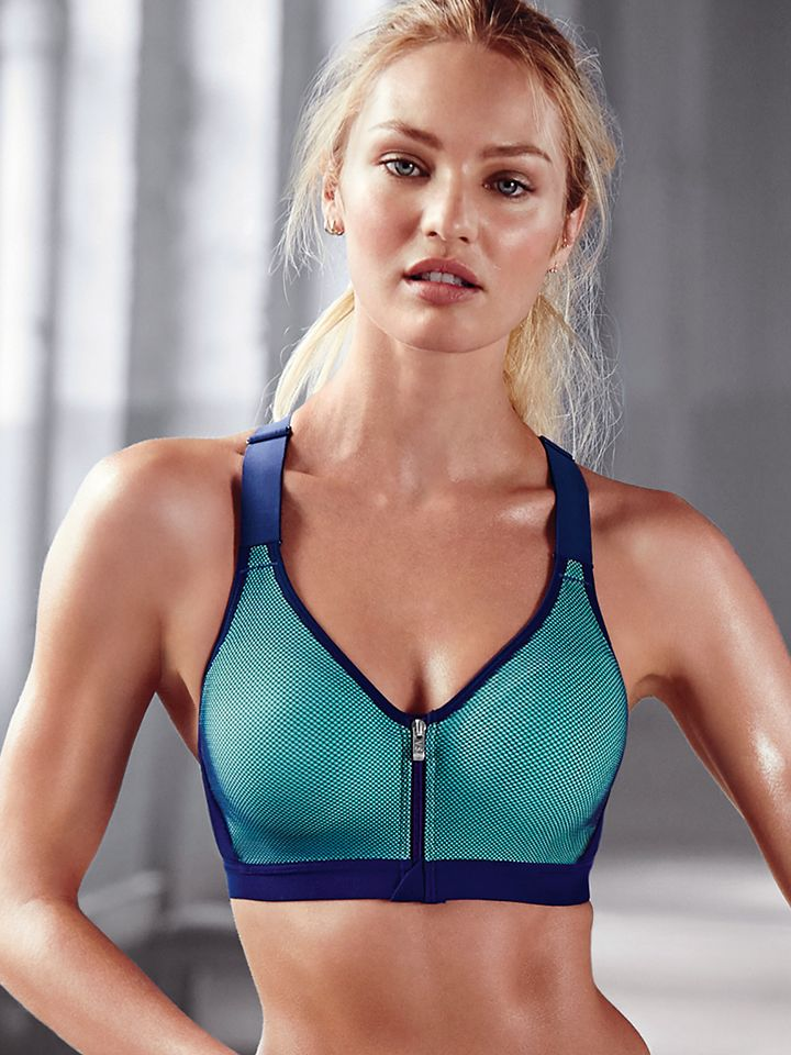 A total game-changer. #IDeserveIt | Incredible by Victoria's Secret Front-Close Sport Bra