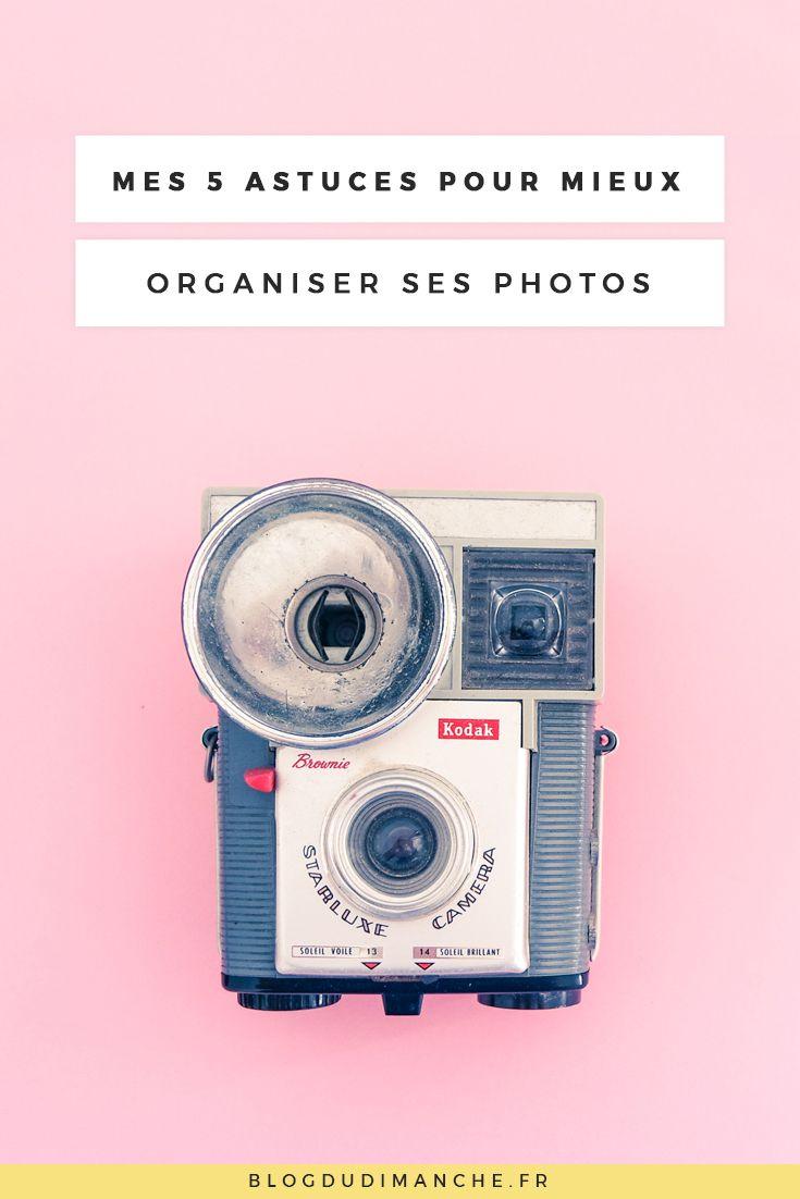 Si vous ne savez pas comment vous y prendre pour rester organisé dans vos photos, ce billet pourrait vous y aider !