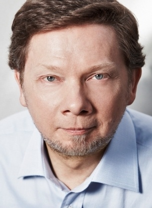 """Eckhart Tolle Quotes-""""Pleasure is always derived from something outside you, whereas joy arises from within."""