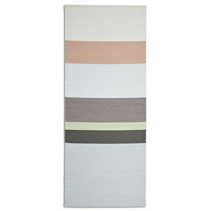 Paper Carpet Pistache Green vloerkleed 80x200 | Hay