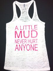 Mud Run Tank - Abundant Heart Apparel