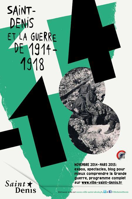 Commémoration de la Guerre 14-18, mairie de Saint-Denis - Formes Vives, l'atelier