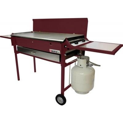 Heatlie HM700PCPC Powder Coated Claret BBQ Package - http://www.appliancesalesdirect.com.au/shop-by/bbq/heatlie-hm700pcpc-powder-coated-claret-bbq-package