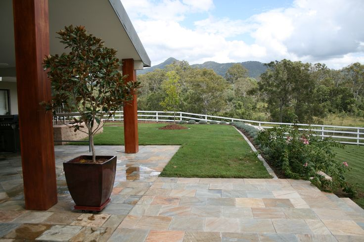 Landscape Construction Brisbane. Award winning garden Samsonvale